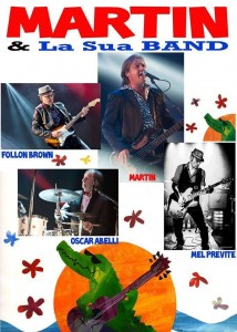 MARTIN & La Sua BAND - poster
